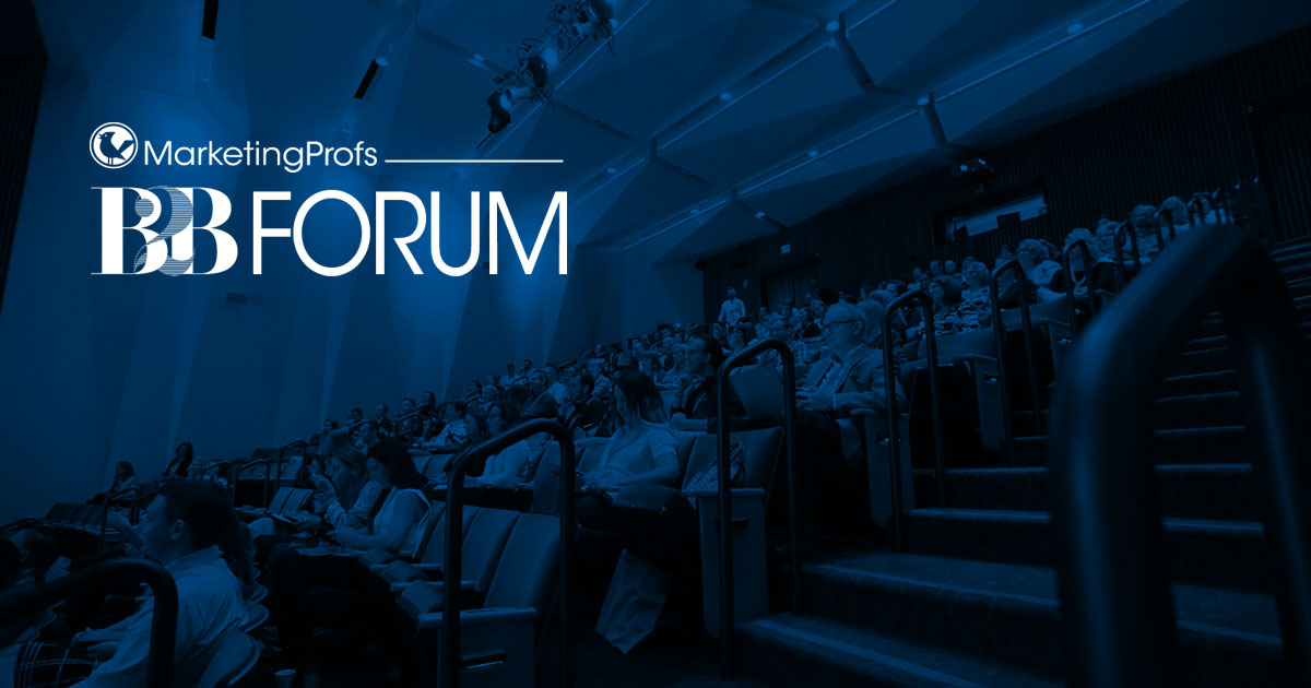 MarketingPROFS B2B forum 2019
